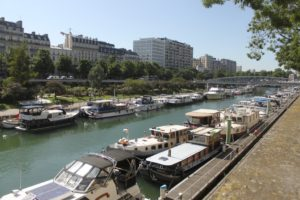Paris - Bassin de l'Arsenal