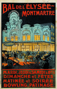 Affiches expos Collection Le Vieux Montmartre