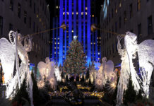 Rockefeller Center Christmas Tree; Midtown; Manhattan