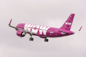WOW AIR AURORE BOREALE